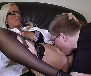 I fuck my young Trainee..