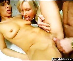 Hot Matures Threesome