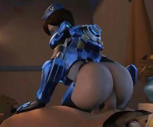 Overwatch Cadet Oxton..