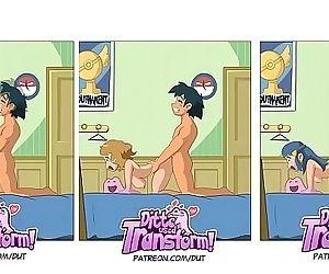 Pokémon: Ash fucking..