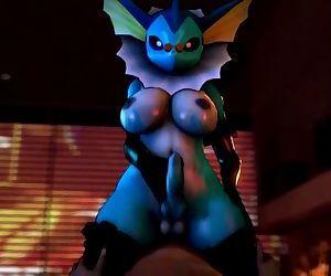 Pokemon Vaporeon Furry..