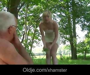 Pervert oldman bangs..
