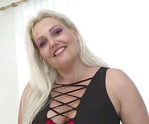 Sexy mature mom with..