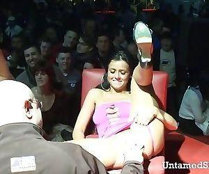 Slutty stripper going..