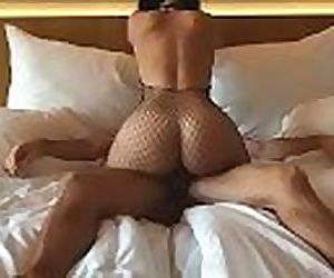 Wife fucked in fishnet..