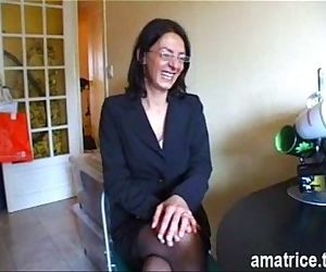 Mature fucked in..