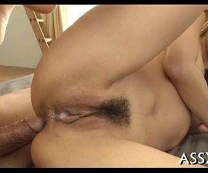 Japanese anal toying..