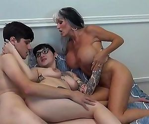 Mommy Made Us FUCK..