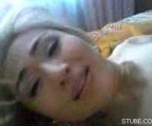 Young Kazakh girl and..