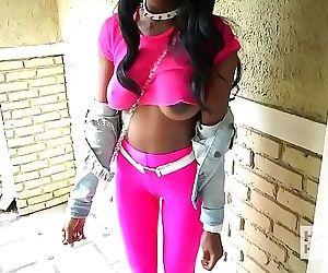 Ebony teen fuckdoll..
