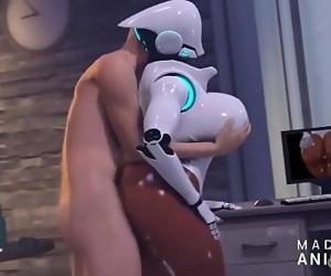 Robot Chick Sex 3 min