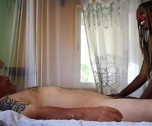 Best HD Ebony massage..