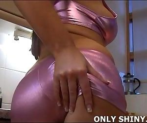 Are my shiny pink PVC..