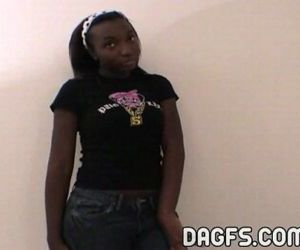 Danielle Luv ebony teen..