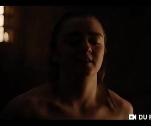 Arya Stark sex scene 57..