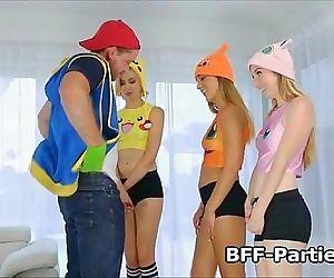 Fucking three blonde..