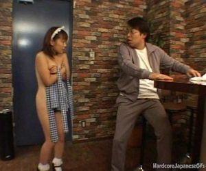 Japanese Bar Maid Gets..