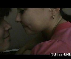 See wild teen sex scene..