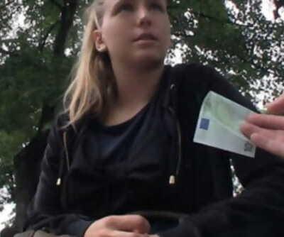 Natural blonde Czech..