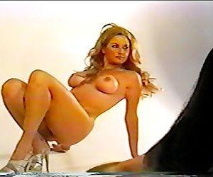 WWE Diva Sunny Poses..