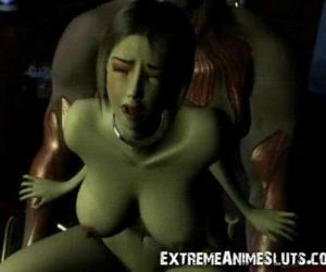 3D Shocking SciFi Sex!..