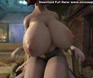 3D Hentai Big Tits