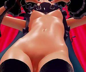 3D MMD Hatsune Miku in..