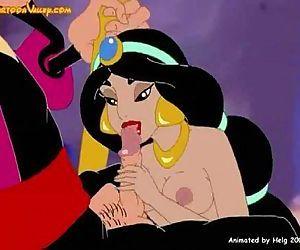 Aladdin fucking - 3 min