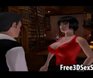 Two sexy 3D cartoon..