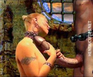 Horny 3D hentai bitch..