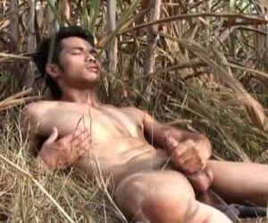 Asian Model Jerk off..