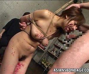 Asian slut has a cock..