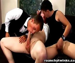 Horny Gay Teen First..