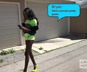 Gorgeous ebony slut..