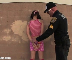 Bad Girl Teen Busted By..