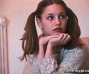 Teen Russian Model Does..