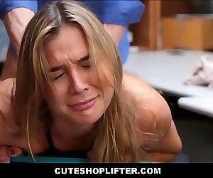 Hot Blonde Teen..