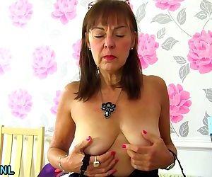 British hairy lady..