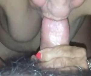 Grandma rubbing her..