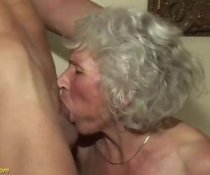 75 years old grandma..