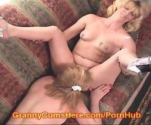 Granny eats ASS and..