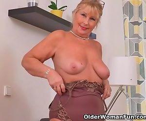 Euro granny Gigi needs..
