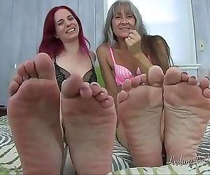 POV Foot Worship JOI 8..