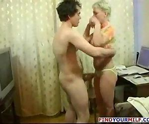 Mature horny MILF get..