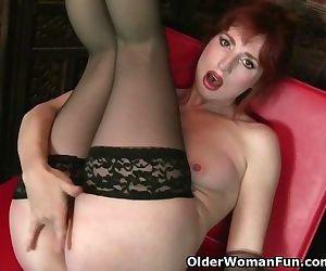Redheaded milf Amber..