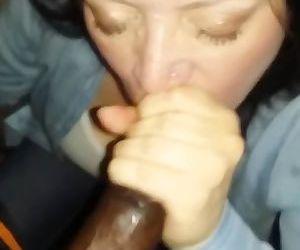 Sucking master till he..