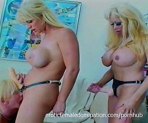Blond guy has wild sex..