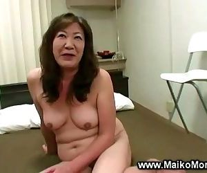 Horny japanese milf..
