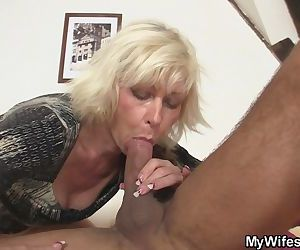Blonde mother in law..