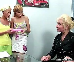 Two blonde russian..